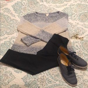💕 3/$20 CHICOS pre loved chunky sweater size 2 💕